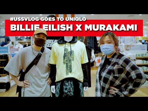 BILLIE EILISH X MURAKAMI (customer Pertama!) #ussvlog