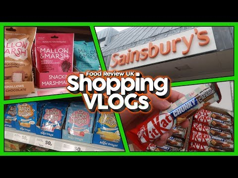 Shopping at Sainsburys, Aylesbury | August 2018