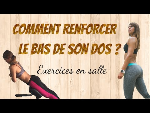 comment se muscler le bas du dos exercices musculation en salle youtube. Black Bedroom Furniture Sets. Home Design Ideas
