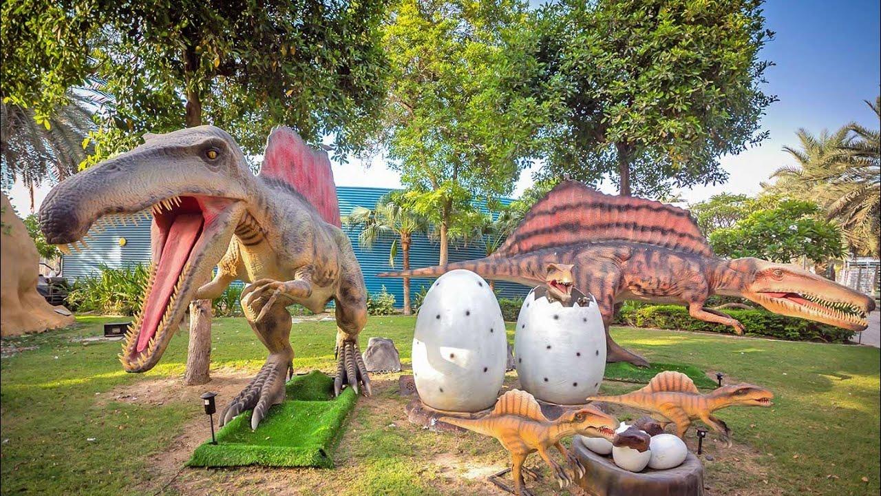 حديقة الديناصورات الأسطورية