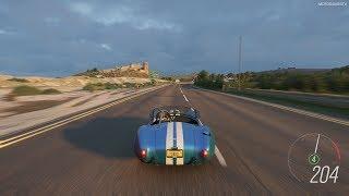 Forza Horizon 4 - 1965 Shelby Cobra 427 S/C Gameplay [4K]