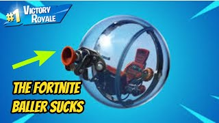 The Fortnite Baller Vehicle Sucks