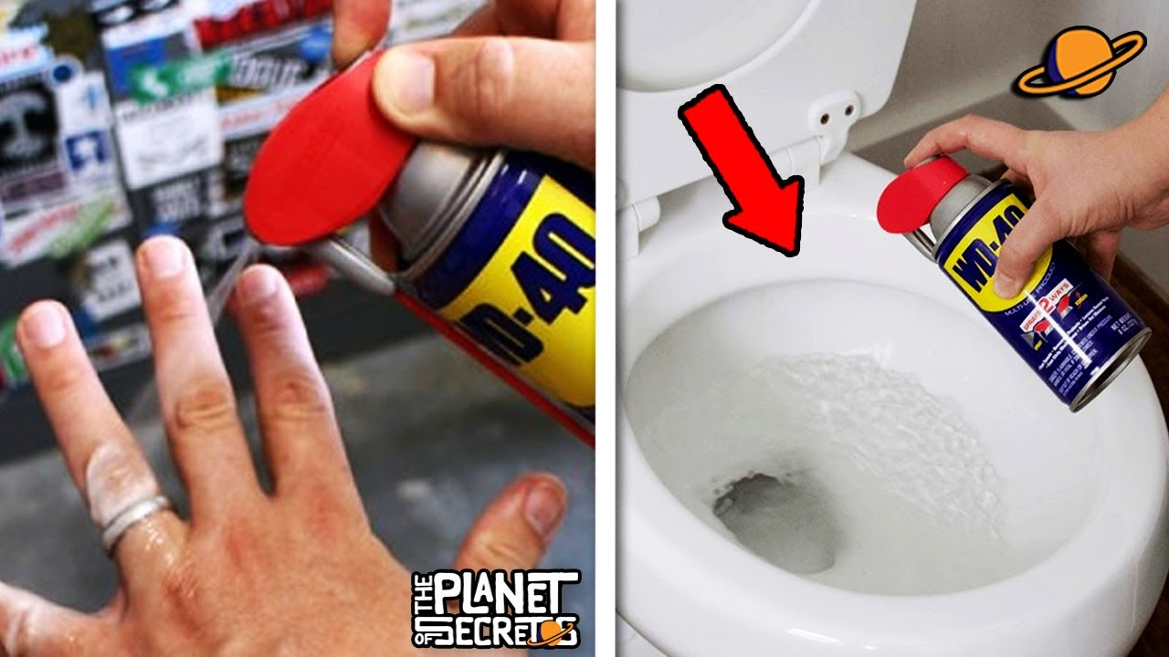 THE AMAZING SECRET USES OF WD-40