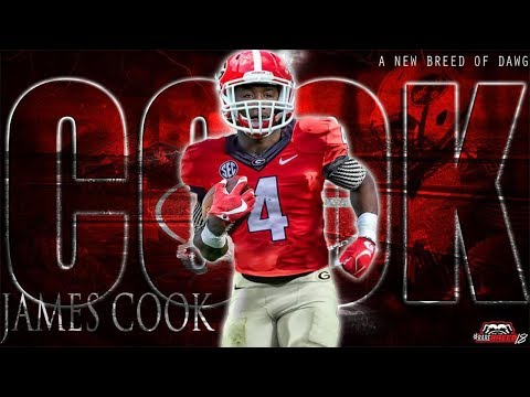 3 RB Class of 2018  Georgia Commit  James Cook  Miami, FL