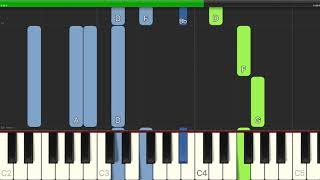 Fleetwood Mac - Landslide - Easy Piano with Chords