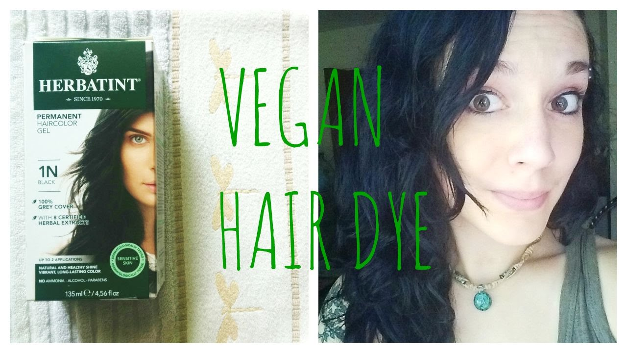 Herbatint Hair Dye Review (Vegan) -- 1N Black - YouTube