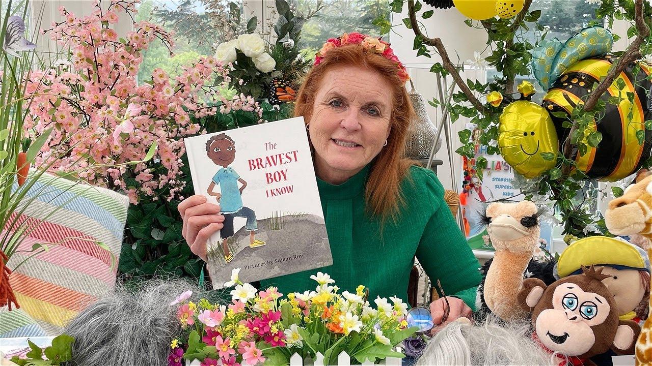 Sarah Ferguson reading The Bravest Boy I Know by Aliya Bokazhanova