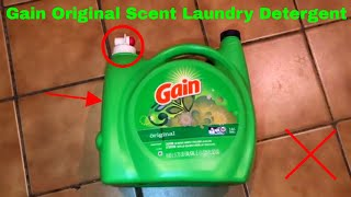 ✅  How To Use Gain Original Scent Laundry Detergent Review
