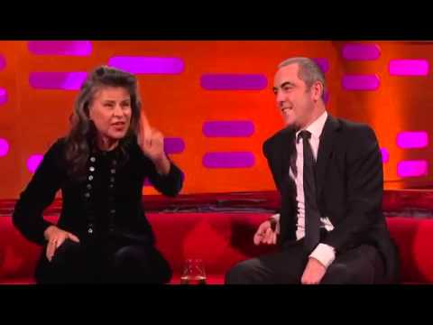 Graham Norton S18E14 Ralph Fiennes, Tracey Ullman, James Nesbitt and James Bay