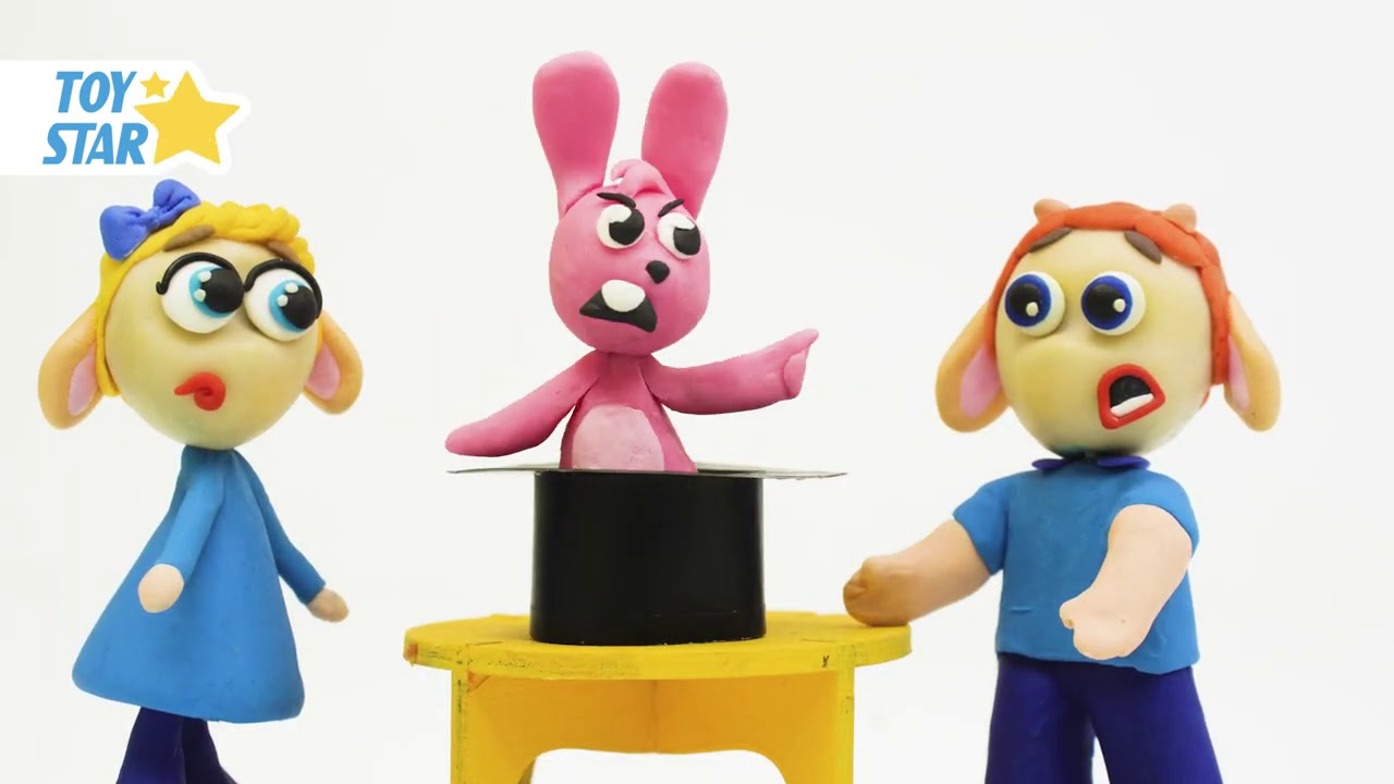 Princesa Dolly Cartoon Play Doh Stop Motion for kids #55