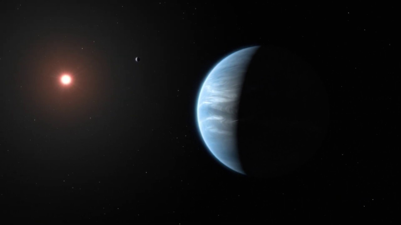 Ilustrasi KOI-456.04 Planet yang Mirip Bumi