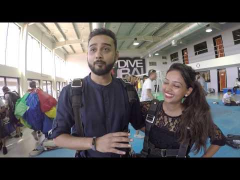 2017 - Krishna Proposes to Mohit | Skydive Dubai | Mo, Will You Marry Me?