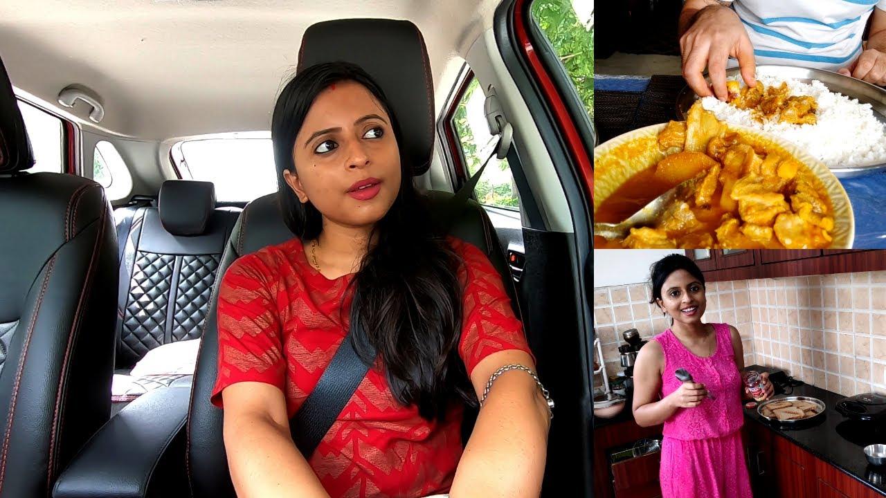 Puradin Anirban ke Office ke Bahar, Wait karti Rahi | Mutton banaya life me 1st time | Glam With Me