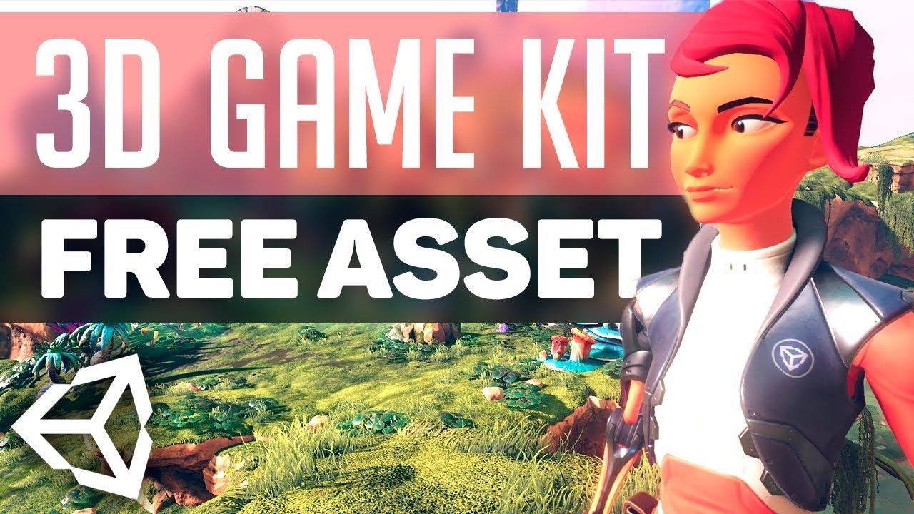 3D GAME KIT in Unity 2018!