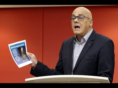 Jorge Rodríguez, rueda de prensa 10 septiembre 2018 sobre migración y ataques a Venezuela