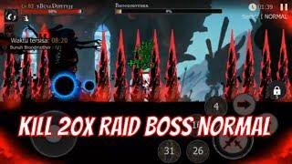 raid boss shadow of death stickman fighting screenshot 5