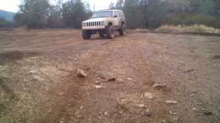 Four Wheeling at Frank Raines OHV park 02-08-2014