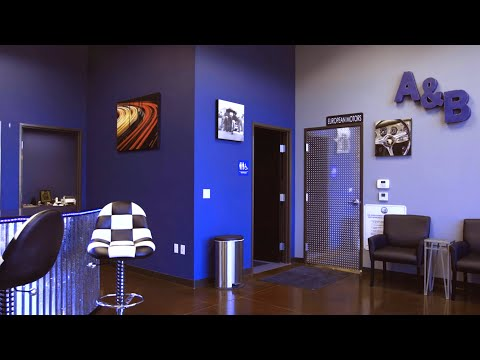 New A&B European Motors Lobby! Shop Expansion!