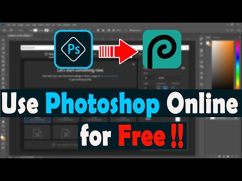 How To Use Photoshop Online For Free | Photopea An Alternative Of Photoshop