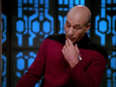 Picard speech with the first link the chain is forged