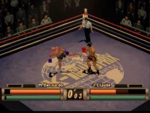 K1 Revenge PS1 Mike Bernardo vs Jean Claude Leuyer