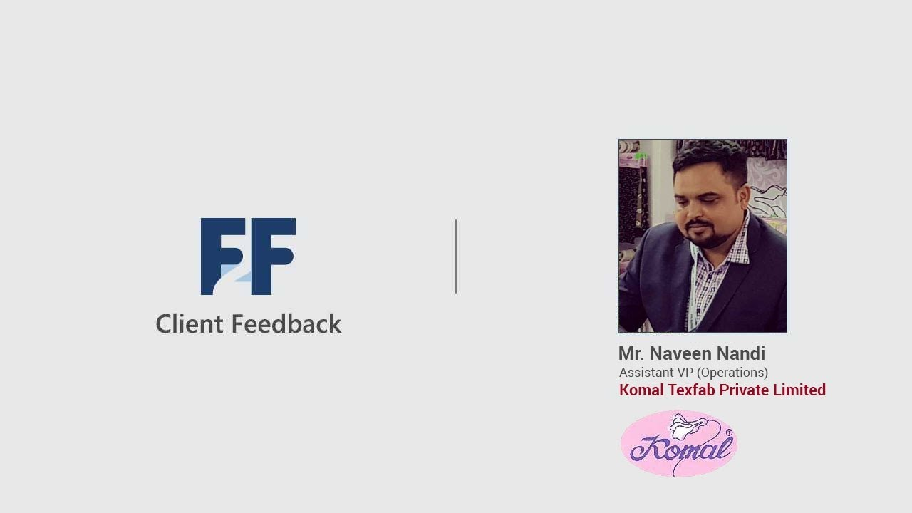 Client Feedback | Mr. Naveen Nandi | Testimonial Video | Fibre2Fashion |