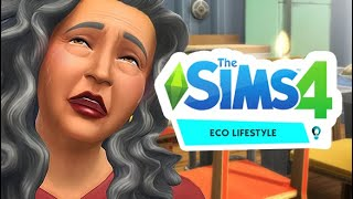 I CAN'T BELIEVE SHE'S GONE! ☠️⚰️| THE SIMS 4 // ECO LIFESTYLE — 8