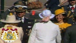 Kungaparets statsbesök till Finland 1983