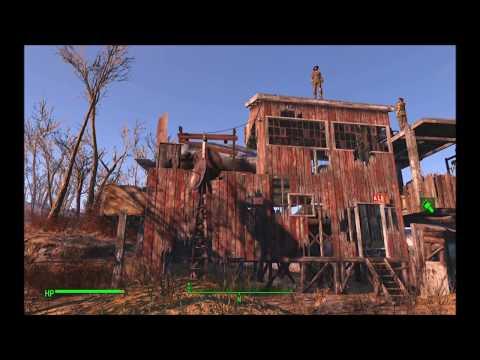 Fallout 4 - Settlement build - Tenpines Bluff