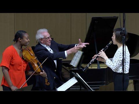 """191026.1 Mozart, Trio For Clarinet, Viola, & Piano, """"Kegelstatt"""""""