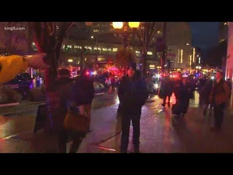 Multiple Injuries In Downtown Seattle Shooting