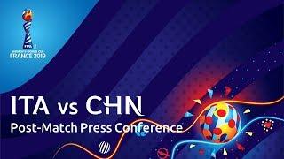 ITA v. CHN - Post-Match Press Conference