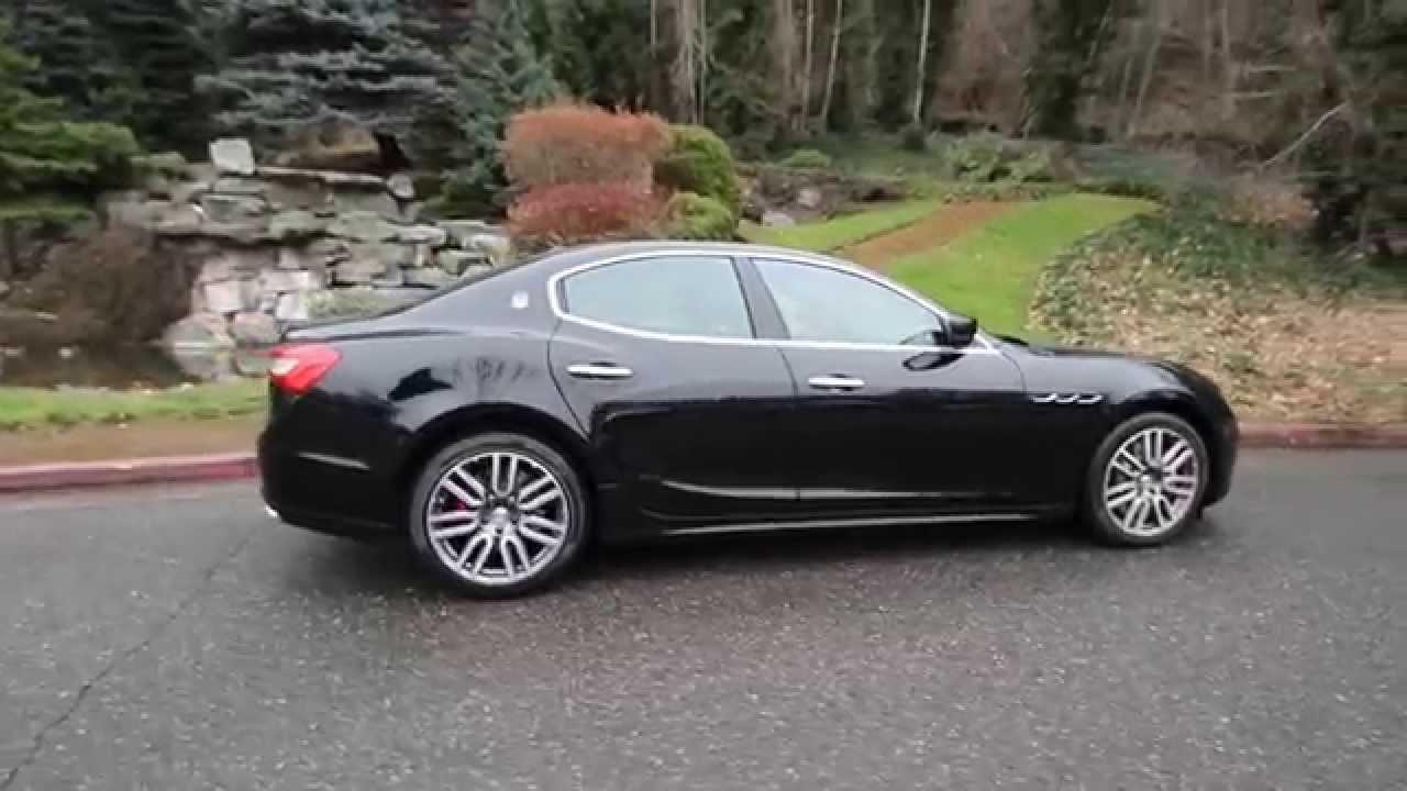 2015 Maserati Ghibli Base Nero Noctis Black F1137530