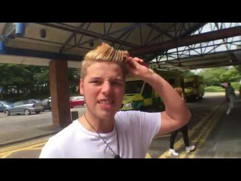 Ben Phillips - Super Hair Gel - Elliot goes to hospital!
