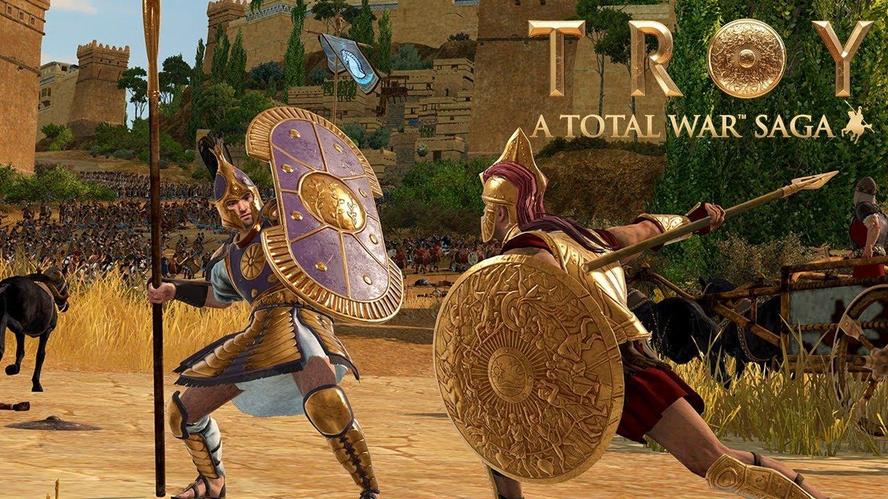 Total War Saga: Troy - Battle Gameplay First Look - YouTube