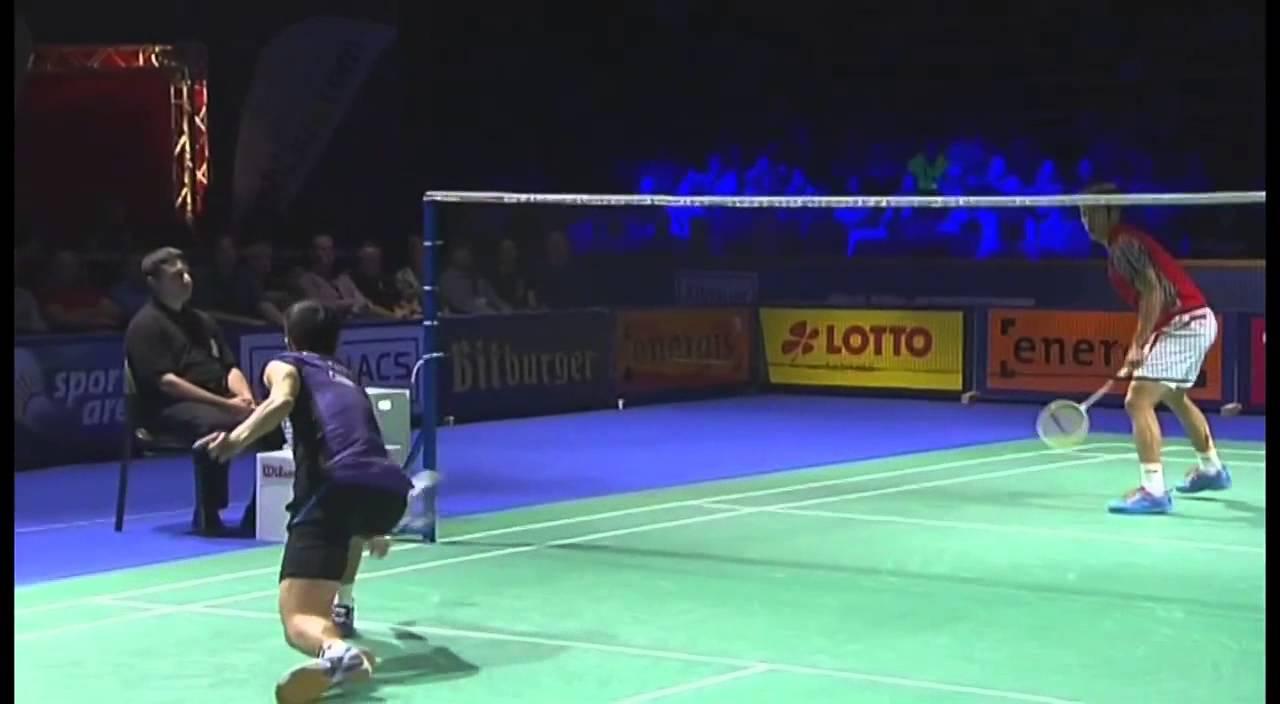 SF - 2014 Bitburger Open - Chou Tien Chen vs Tian Houwei ... Badmintonplanet