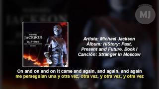 Letra Traducida Stranger In Moscow de Michael Jackson
