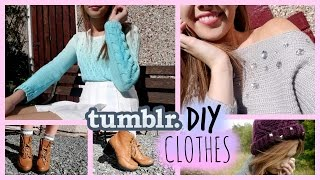 DIY Clothes • Tumblr Inspired!