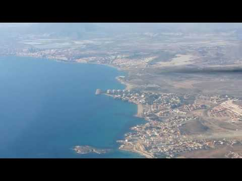 Mazarron costa desde el aire. Land Africa