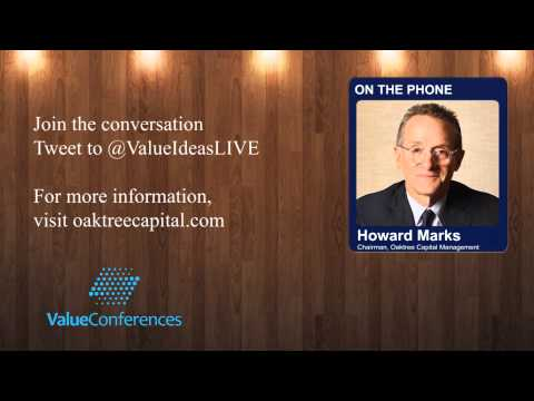 Howard Marks at Equity Income Summit 2013