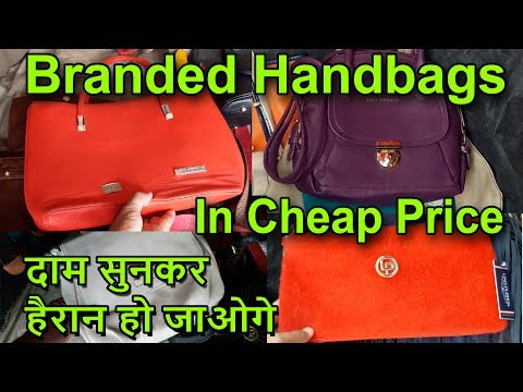 Branded Purse Handbags In Retail & Wholesale Price | Katran Market Mangolpuri Delhi | Go Girls ...