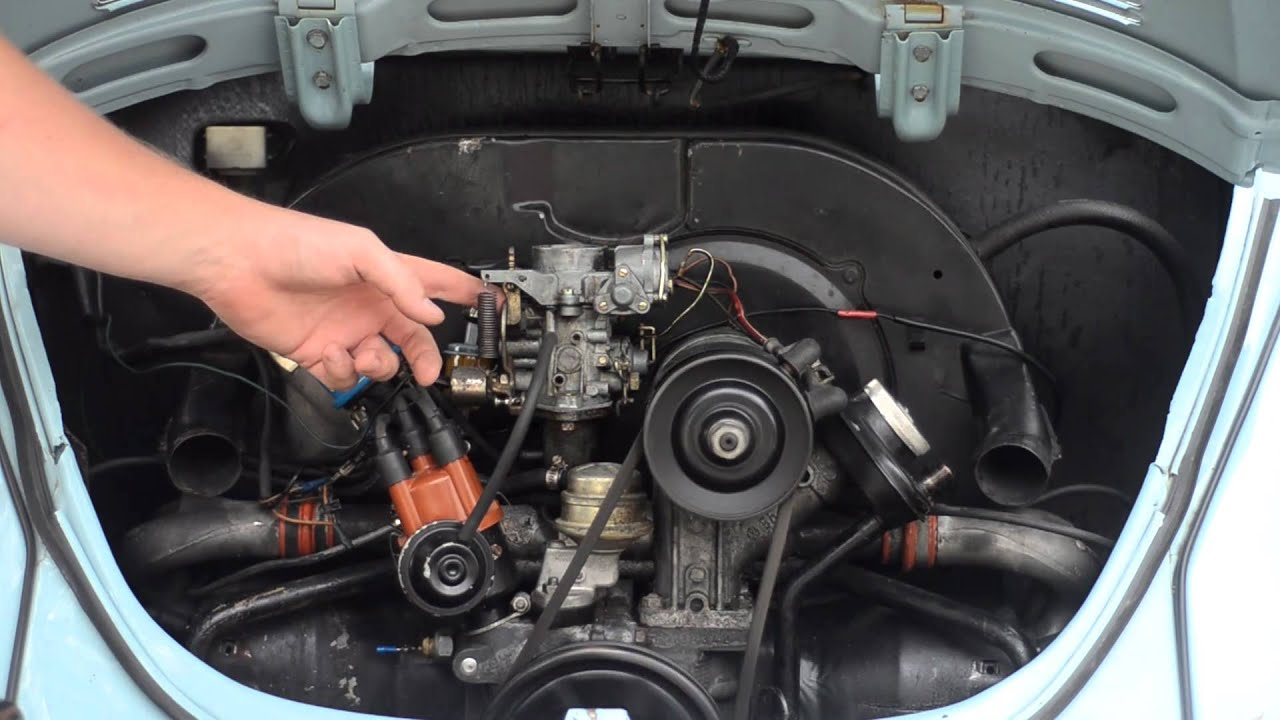 vw backfiring through carb  [ 1280 x 720 Pixel ]