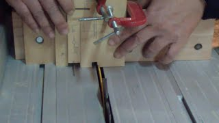 Really easy jig for really easy FingerJoints (box joints) in the tablesaw