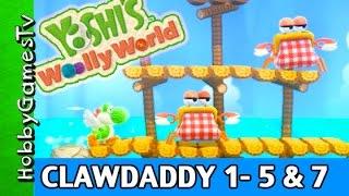 Yoshi's Woolly World 1 level 5 + 7 MotoYoshi Game by HobbyGamesTV HD