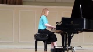 Bethany Taylor plays Franz Schubert's Drei Klavierstücke, D. 946, 2nd movement