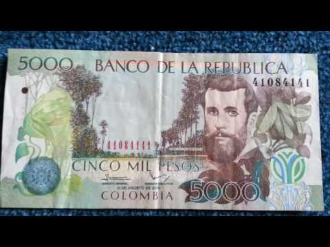 Currency Special part 9: Colombia Pesos/ Kolumbianischer Peso