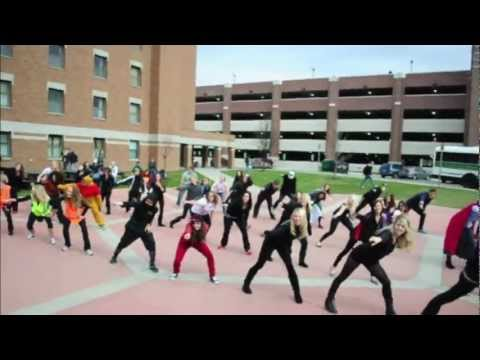 UND Halloween Day Flashmob