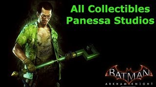 Batman: Arkham Knight All Collectibles - Panessa Studios (HD,60fps)