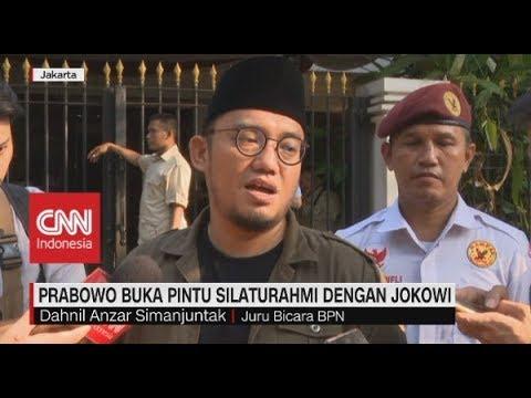 Prabowo Buka Pintu Silahturahmi Dengan Jokowi