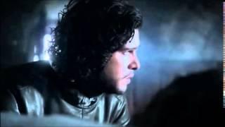 Jon Snow says goodbye to Bran
